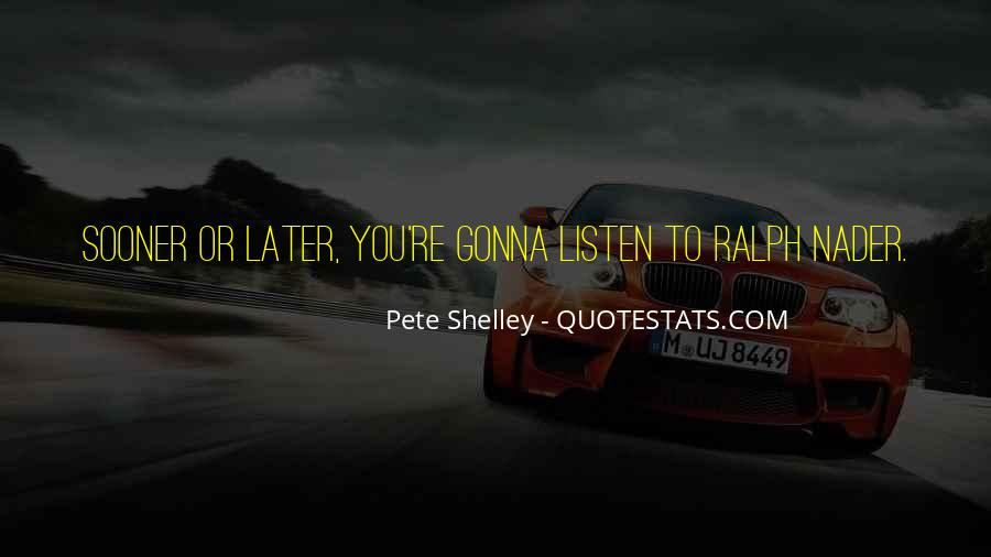 Pete Shelley Quotes #1070617