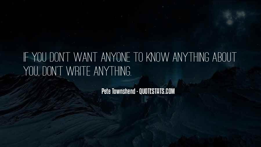 Pete Townshend Quotes #1353902