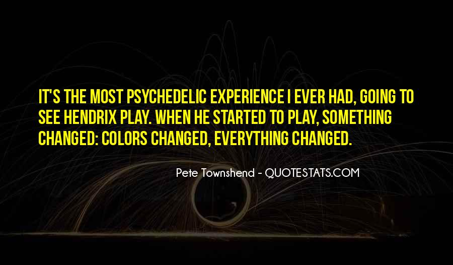 Pete Townshend Quotes #46753