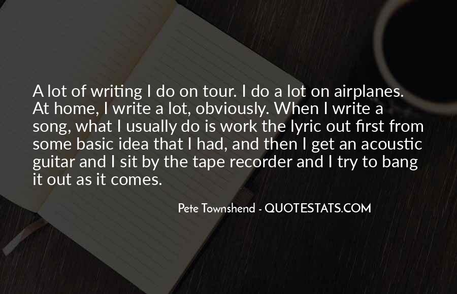 Pete Townshend Quotes #900024