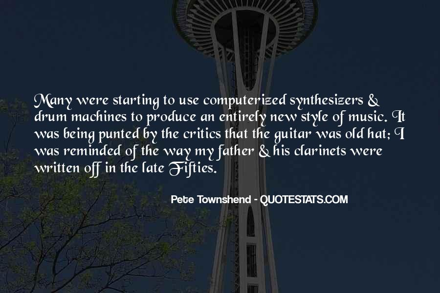 Pete Townshend Quotes #911246