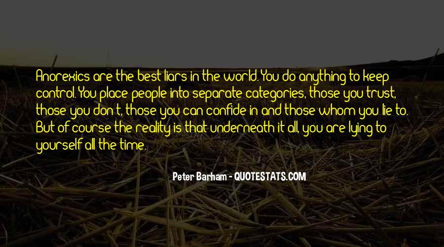 Peter Barham Quotes #1225445