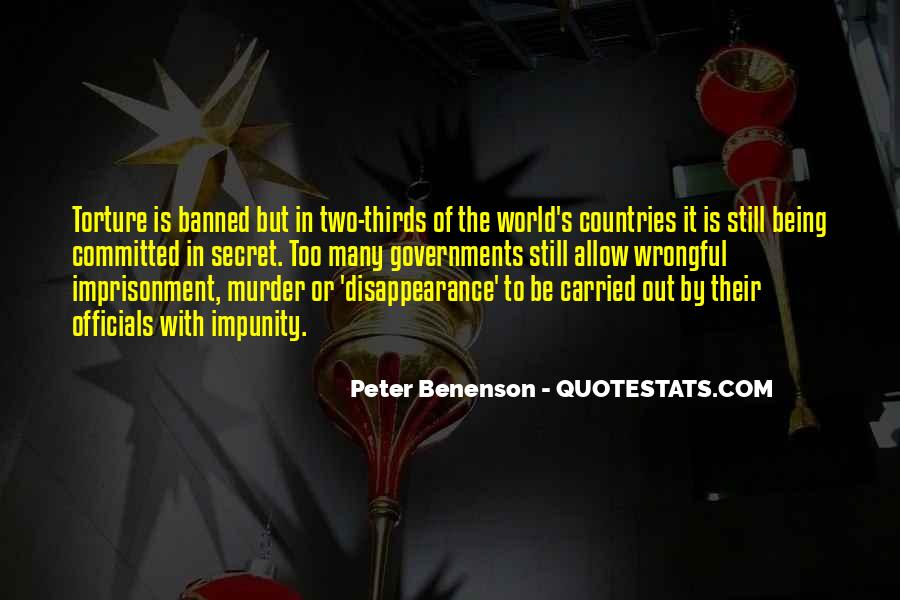 Peter Benenson Quotes #371190