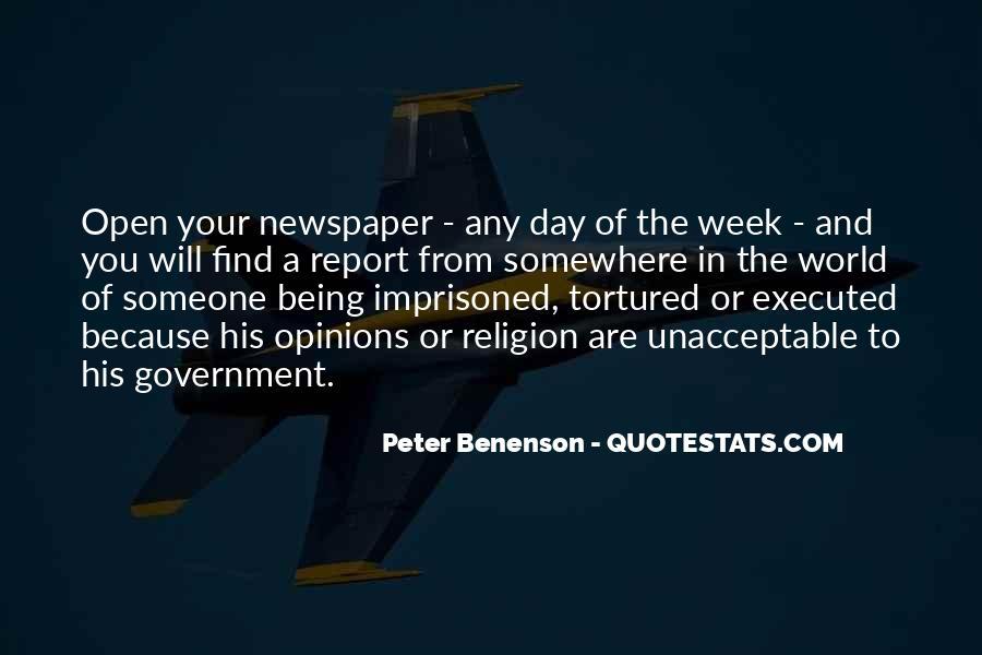 Peter Benenson Quotes #718721