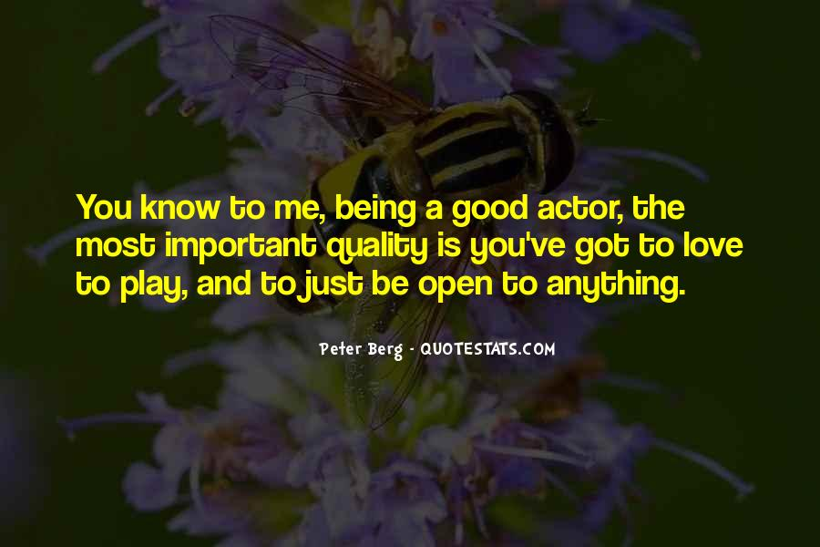 Peter Berg Quotes #1832836