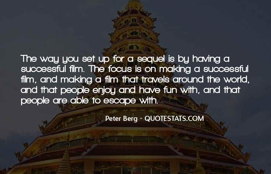 Peter Berg Quotes #205291