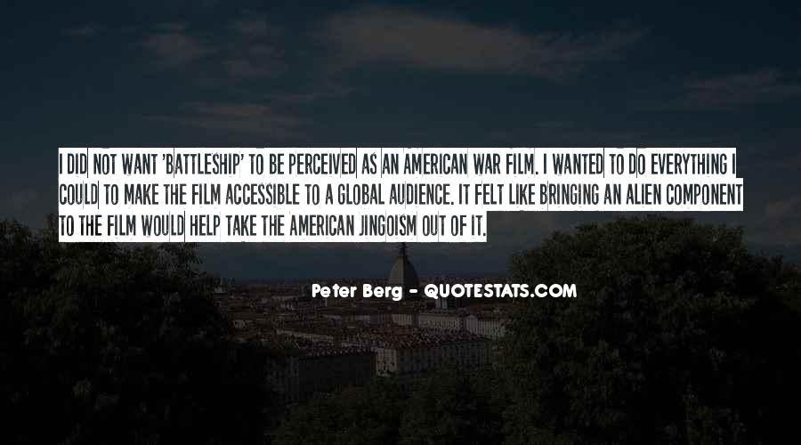 Peter Berg Quotes #221599