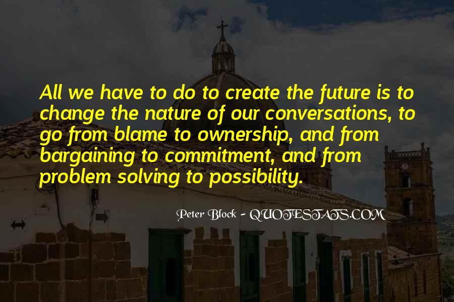 Peter Block Quotes #1110115