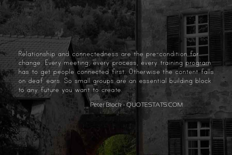 Peter Block Quotes #1171470