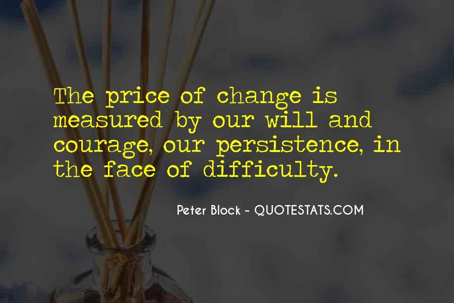 Peter Block Quotes #1218399