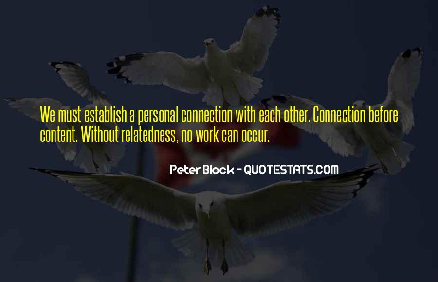 Peter Block Quotes #1456177