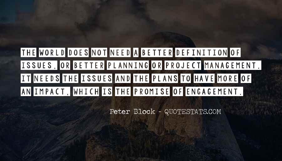 Peter Block Quotes #1680804