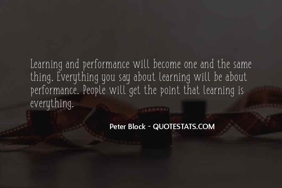 Peter Block Quotes #351018