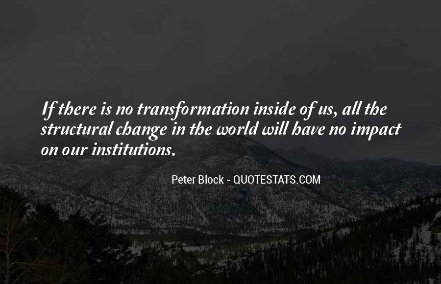 Peter Block Quotes #361634