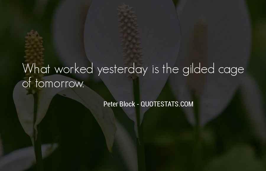 Peter Block Quotes #368392