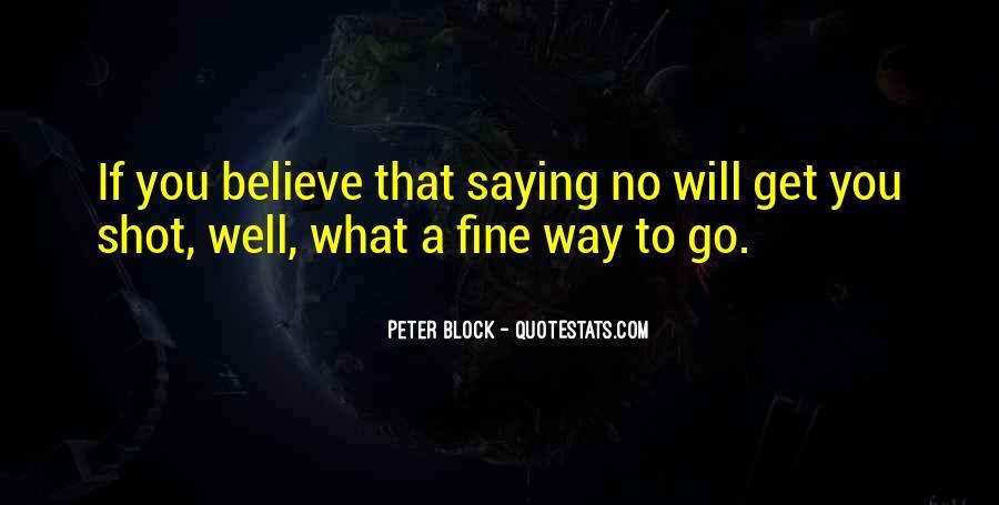 Peter Block Quotes #554743
