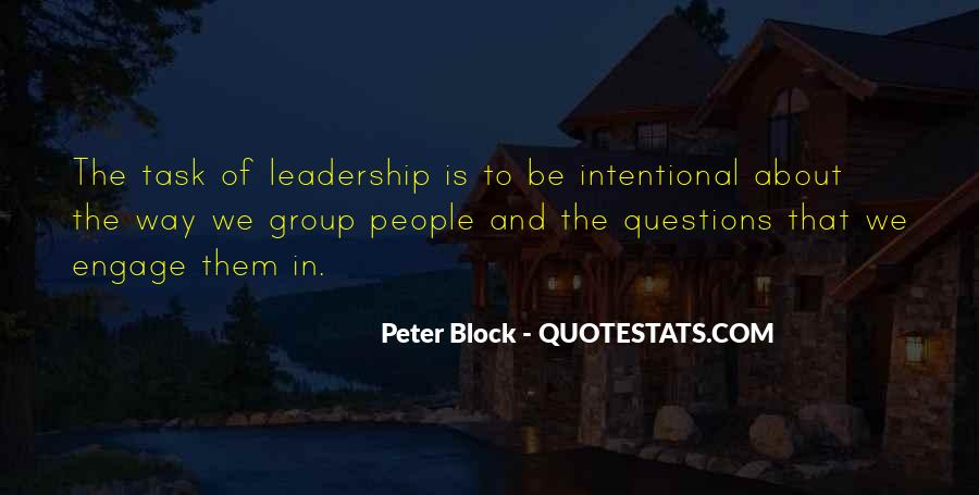 Peter Block Quotes #557033