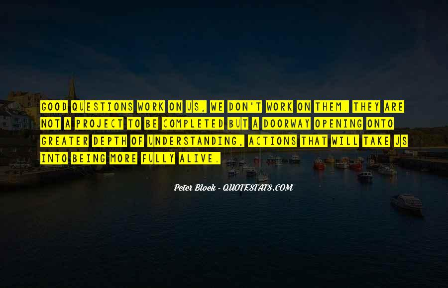 Peter Block Quotes #817487