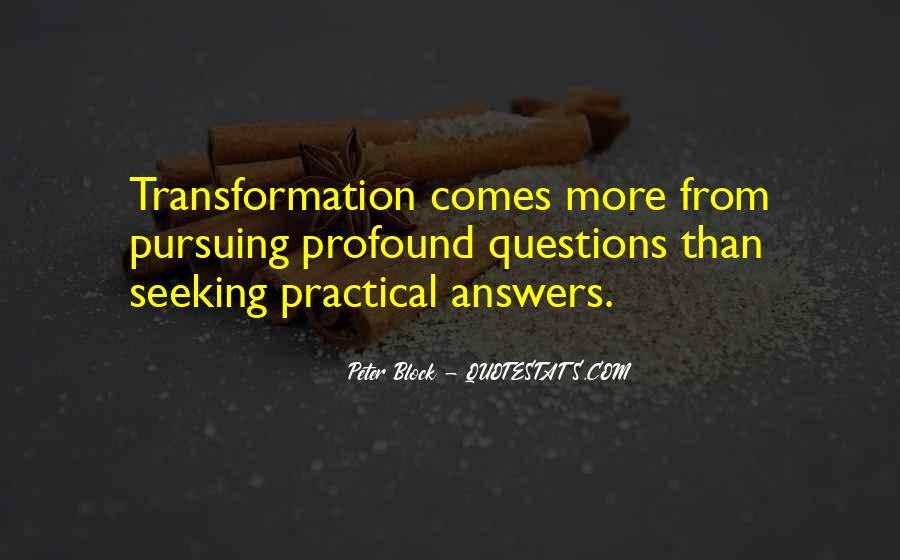 Peter Block Quotes #818971