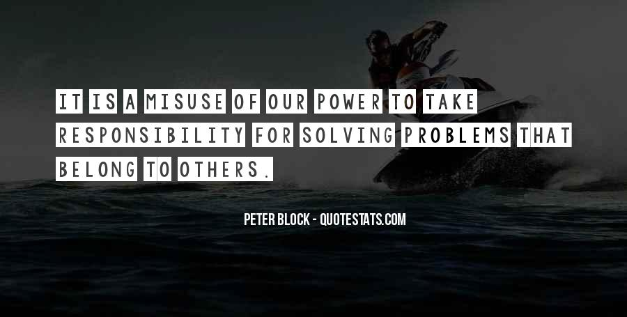 Peter Block Quotes #976348