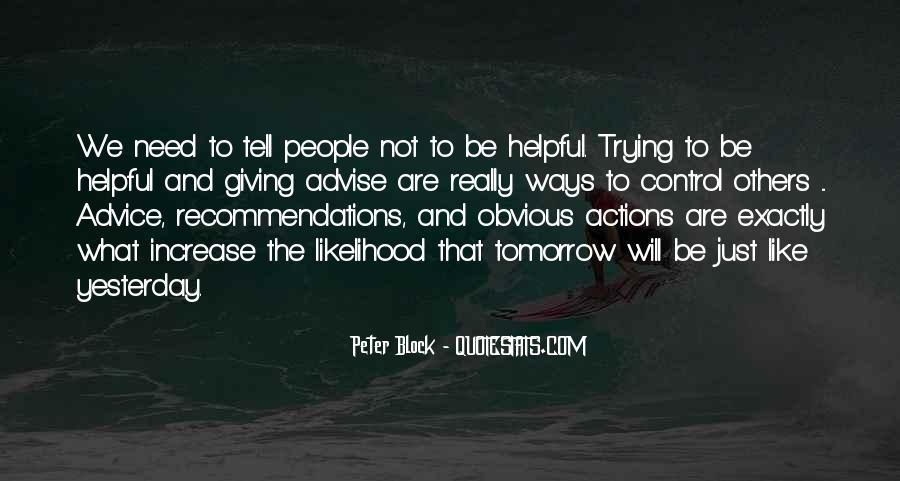 Peter Block Quotes #97870
