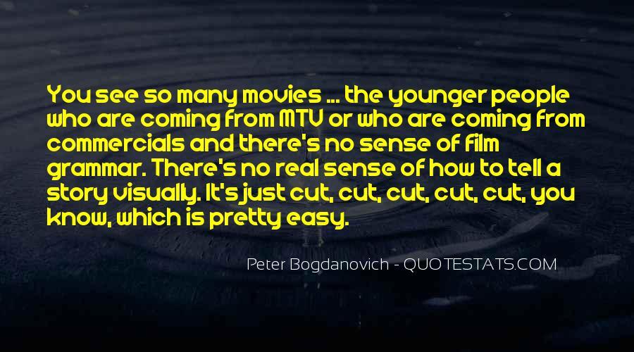 Peter Bogdanovich Quotes #106150
