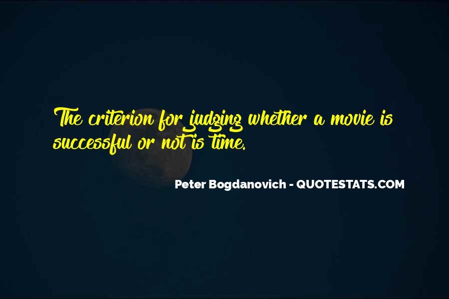 Peter Bogdanovich Quotes #1515522