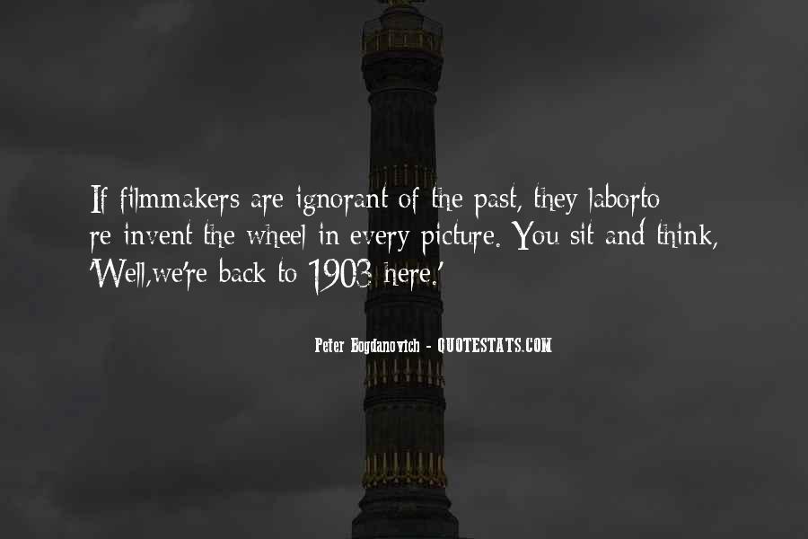 Peter Bogdanovich Quotes #201527