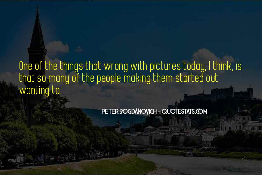 Peter Bogdanovich Quotes #825806