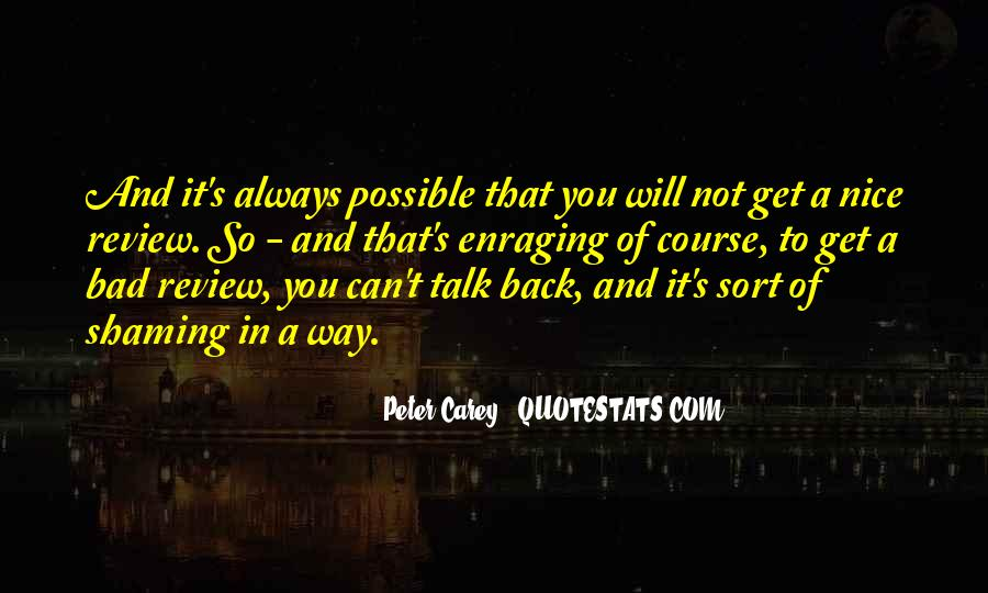Peter Carey Quotes #1055536