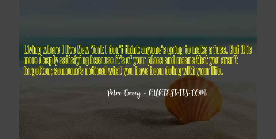 Peter Carey Quotes #1134110