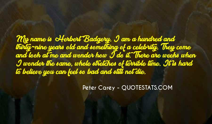 Peter Carey Quotes #59772