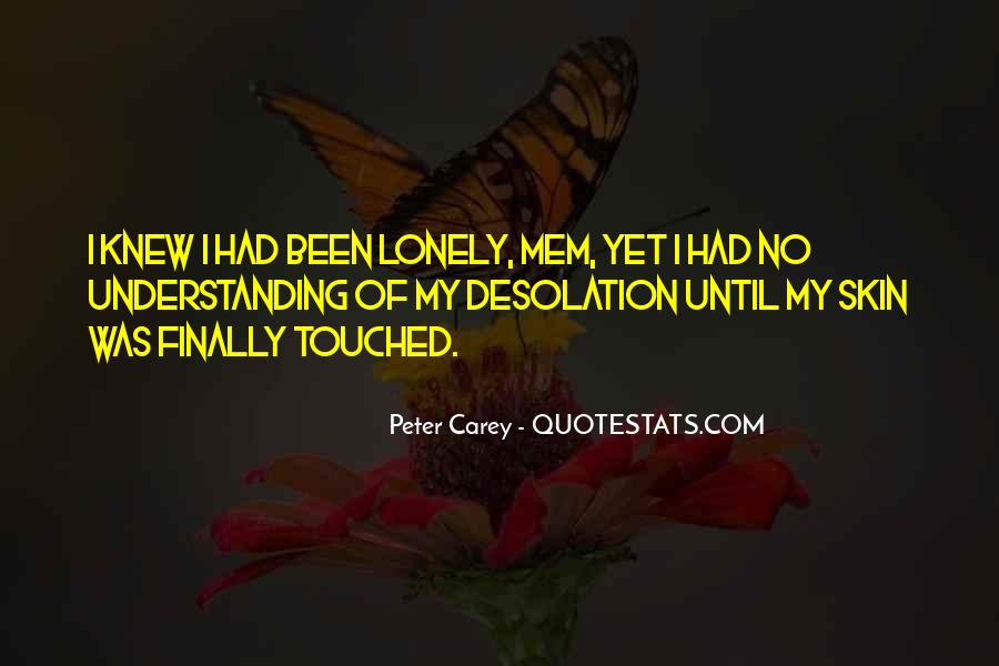 Peter Carey Quotes #65196