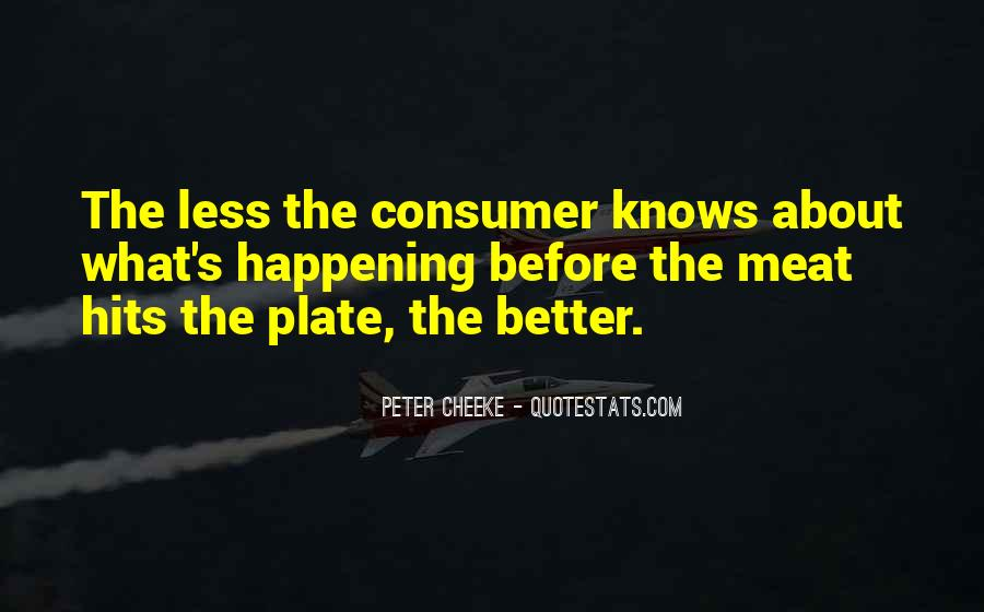 Peter Cheeke Quotes #1421241