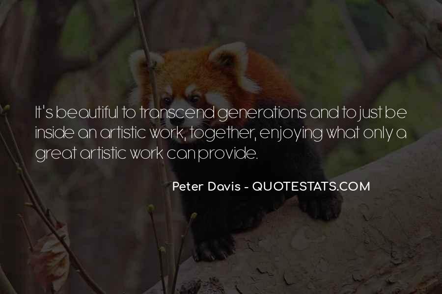 Peter Davis Quotes #1240966