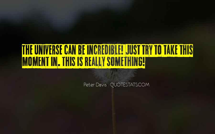 Peter Davis Quotes #1551001