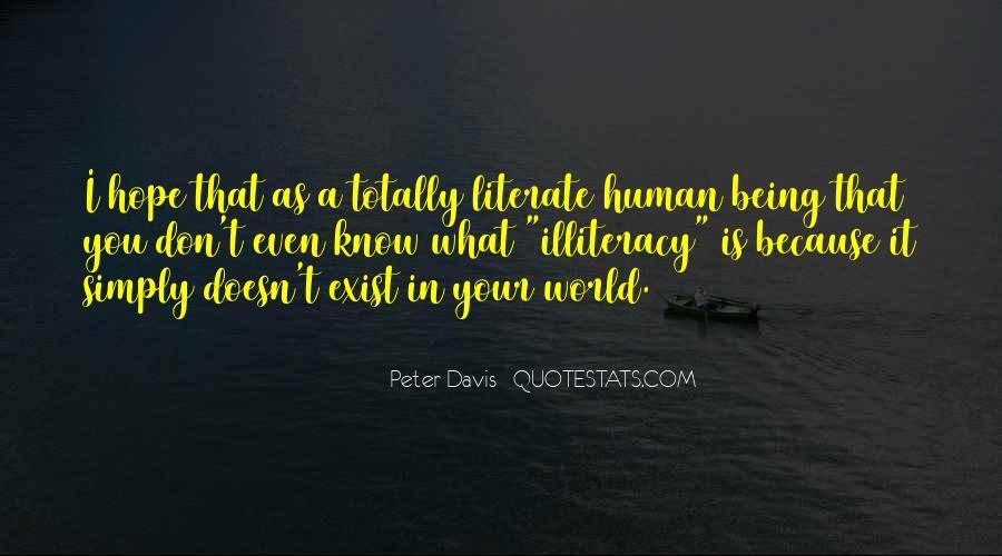 Peter Davis Quotes #1752607