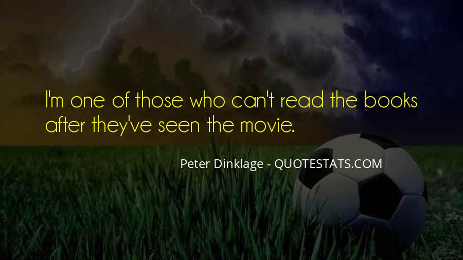 Peter Dinklage Quotes #1743690