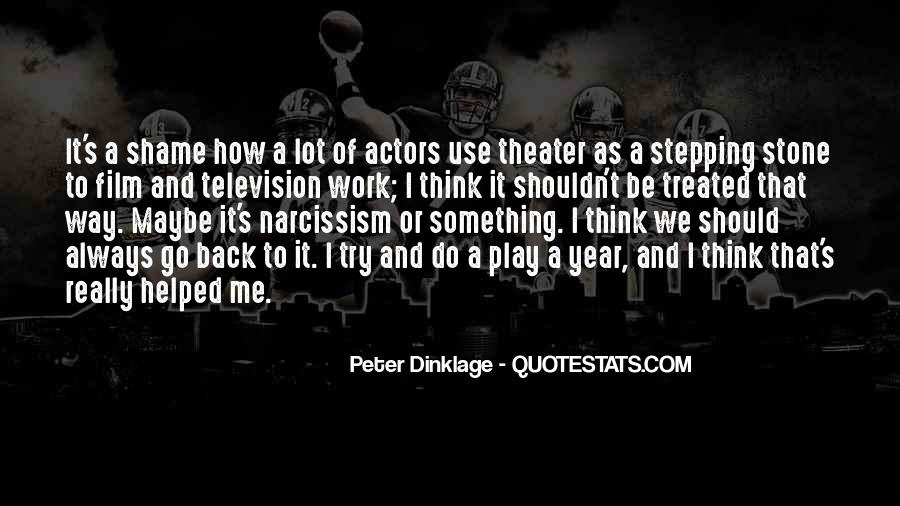 Peter Dinklage Quotes #810873