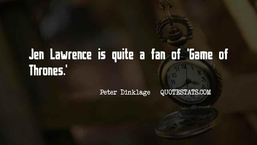 Peter Dinklage Quotes #842439