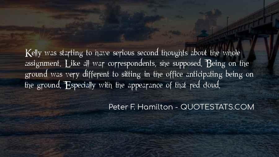 Peter F. Hamilton Quotes #1017119