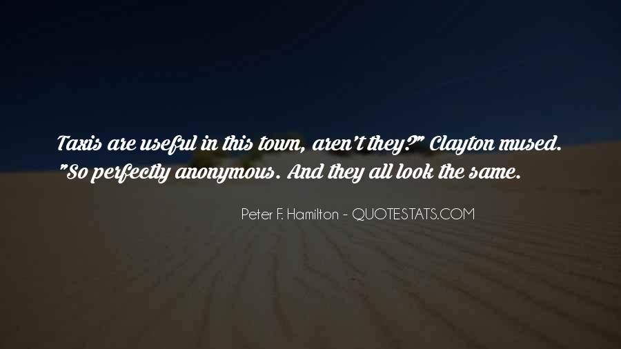 Peter F. Hamilton Quotes #1019941