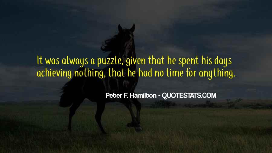 Peter F. Hamilton Quotes #1078724