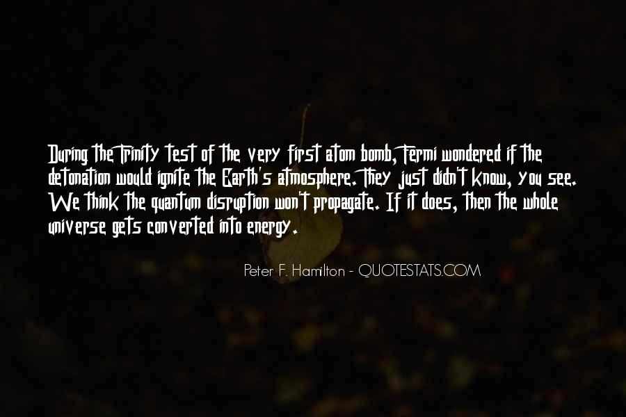 Peter F. Hamilton Quotes #109537