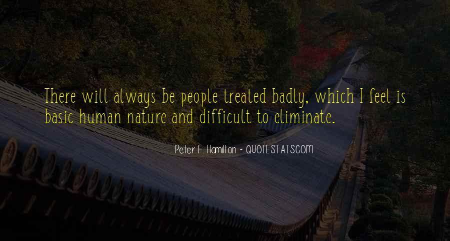 Peter F. Hamilton Quotes #1119636