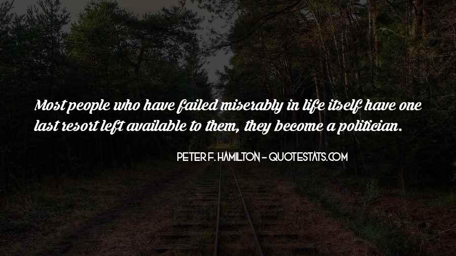 Peter F. Hamilton Quotes #114977