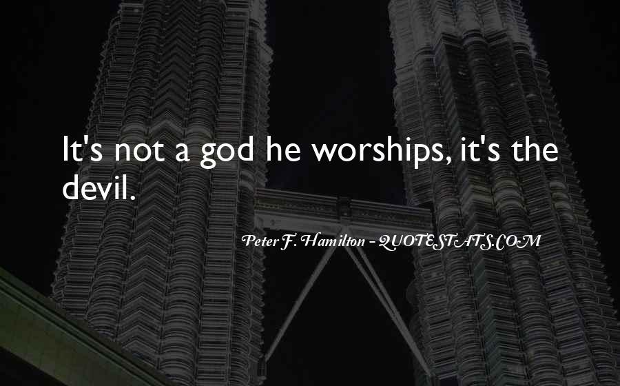 Peter F. Hamilton Quotes #1160803