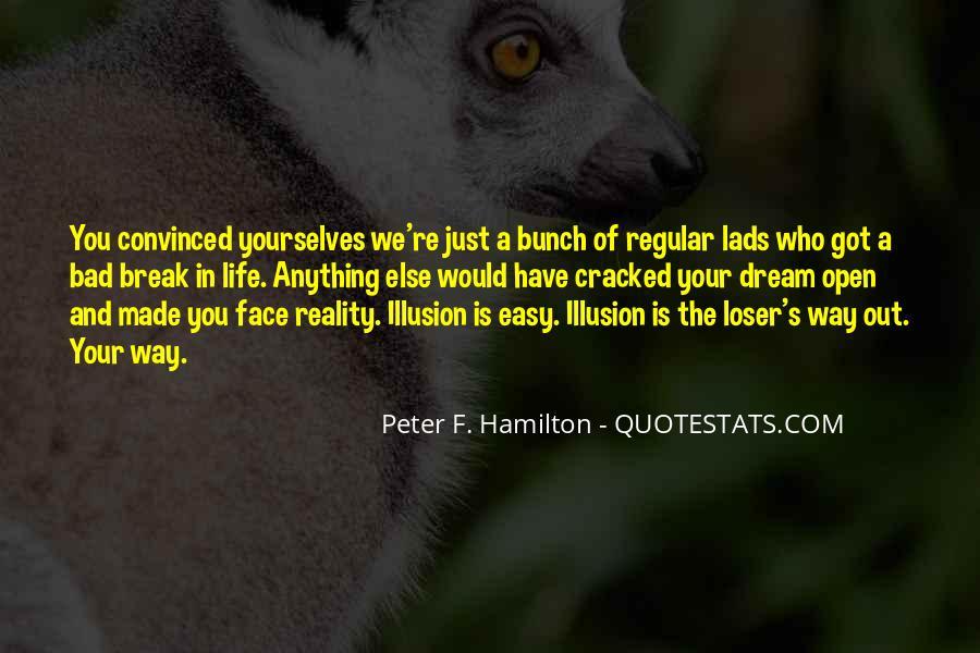 Peter F. Hamilton Quotes #1173658