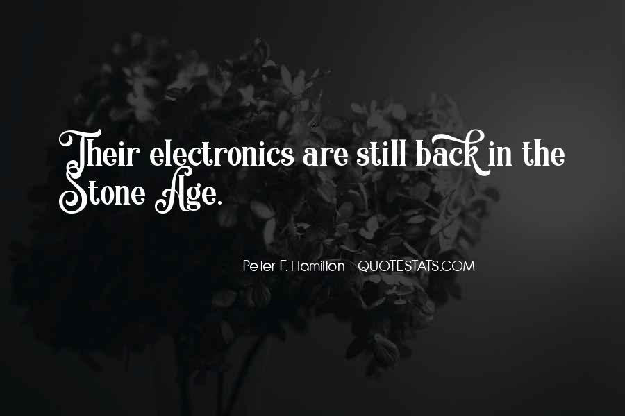 Peter F. Hamilton Quotes #1217357