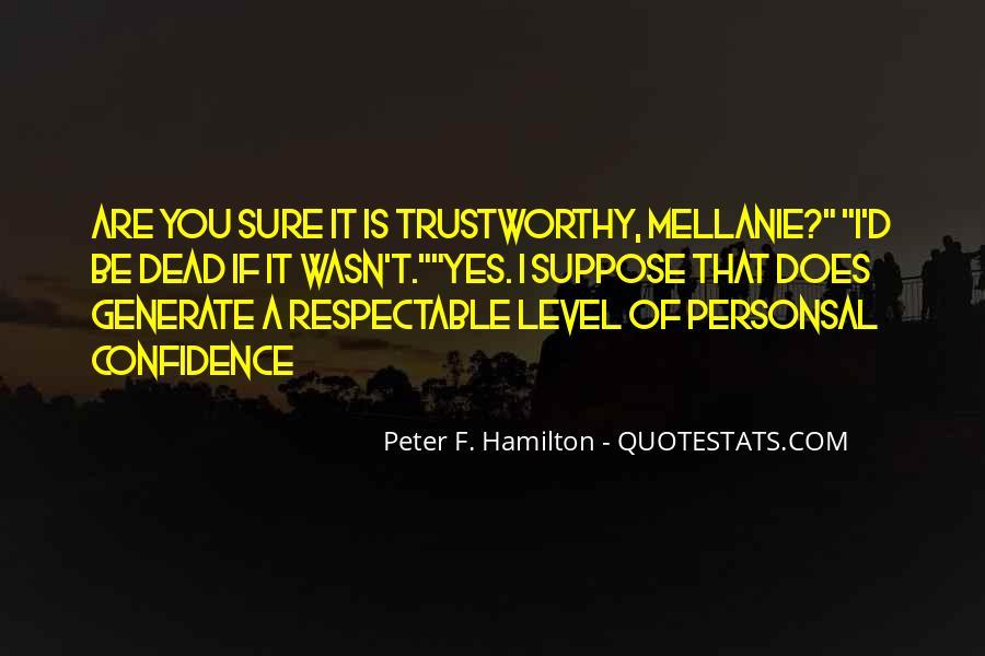Peter F. Hamilton Quotes #1306298